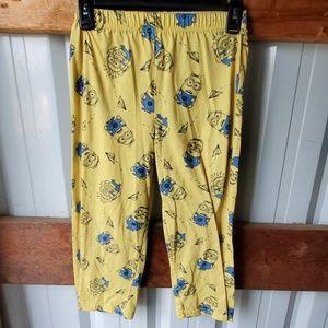 Other - BOYS minion pajama bottoms